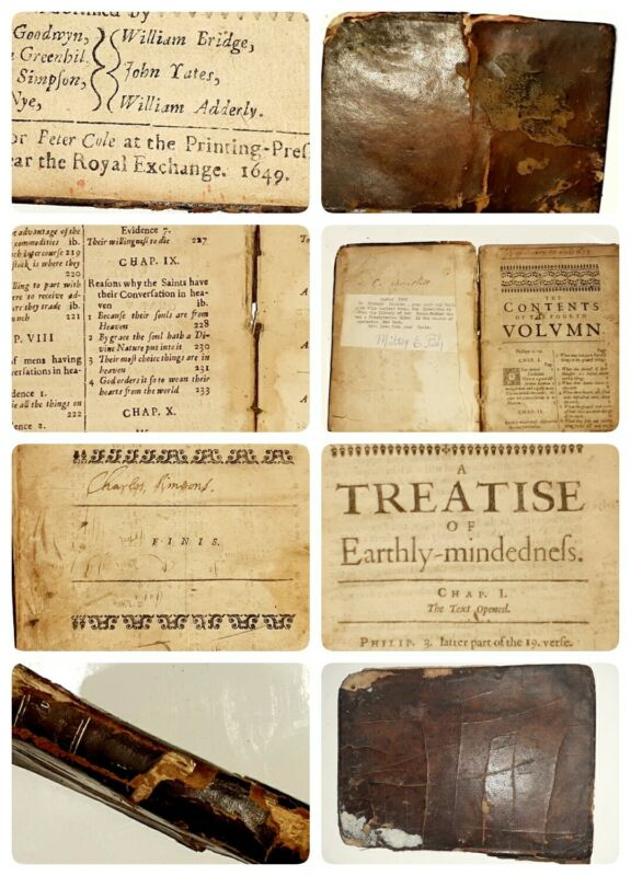 RARE ANCIENT BOOK BY JEREMIAH BURROUGHS dated1649 ONLY BOOK LIKE IT