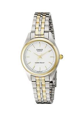 Casio LTP1129G-7A Women's Two-Tone Gold Classic Quartz Watch