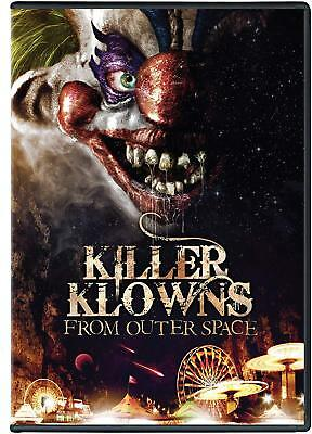 NEW Killer Klowns From Outer Space DVD killerclowns 1988 OUTERSPAC HORROR CLOWNS - Killer Clowns From Outer Space