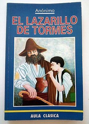 El Lazarillo de Tormes  Novela Anonima Espana Spain 1996 Spanish Paperback (El Lazarillo De Tormes)