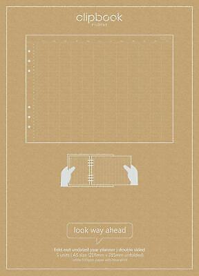 Filofax - Libro Clips A5 sin Fecha Agenda Anual
