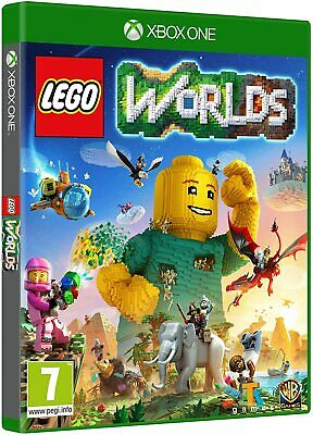 LEGO WORLDS XBOX ONE GAME BRAND NEW SEALED