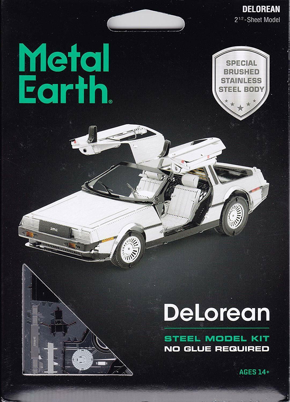 Fascinations Metal Earth DeLorean Motor DMC 3D Laser Cut Ste