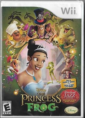 Disney The Princess and the Frog Wii (Game, 2007) Brand New