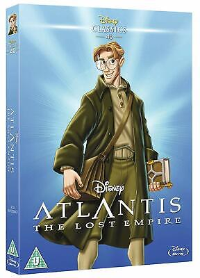Atlantis: The Lost Empire + O-Ring Slipcover (Blu-ray, Disney, Region Free)