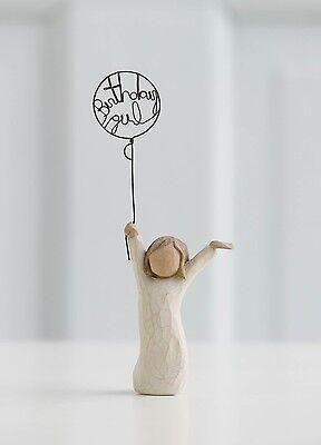 Willow Tree Birthday Girl Resin Figurine Keepsake Friend Daughter Ornament Gift