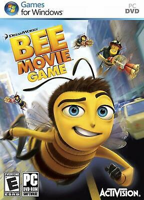 Computer Games - Dreamworks Bee Movie Game PC Games Windows 10 8 7 XP Computer action kid