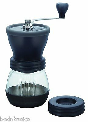New! ORIGINAL HARIO Ceramic Coffee Mill Hand Grinder Skerton FREE SHIP! MSCS-2TB