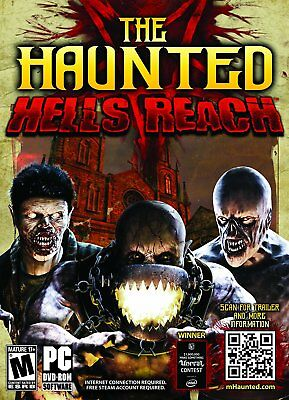 Computer Games - The Haunted Hells Reach PC Games Windows 10 8 7 XP Computer action horror NEW