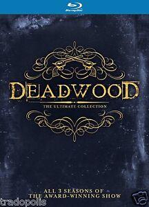 Deadwood Blu-ray Komplettbox Staffel 1-3 [in Deutsch & Englisch] * Season 1 2 3