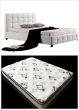 WarehouseSpecial 002 PU bed + Eurotop Mattress Double/Queen/King Clayton South Kingston Area Preview
