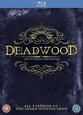 Deadwood The Complete Series Ultimate Collection Hbo Blu Ray Set New Free Ship