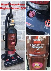 Bissell Power Force Bagless Turbo Vacuum