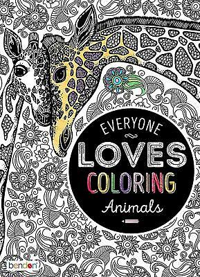 Adults Coloring Books for Stress Relief - Animals Patterns - Animal Coloring Books