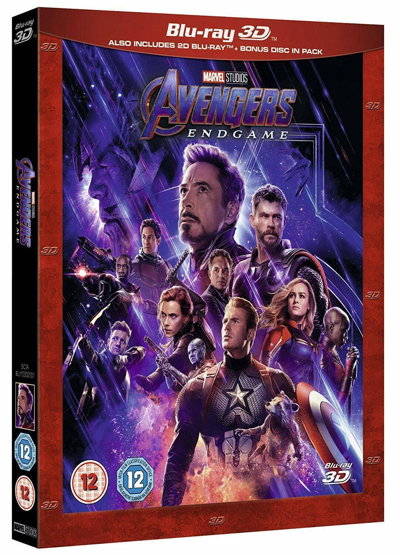 Avengers Endgame  Blu-ray Combo  -INSTOCK NOW