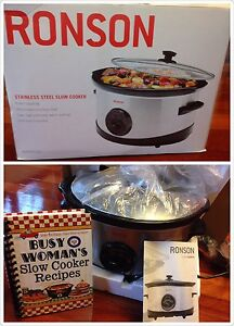 Stainless steel slow cooker Gordon Ku-ring-gai Area Preview