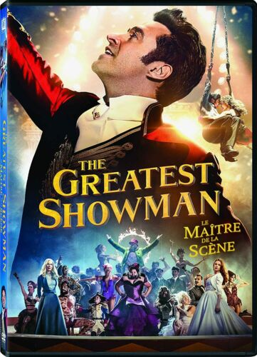 The Greatest Showman (DVD, 2018 - Hugh Jackman) New & Sealed FREE Shipping!