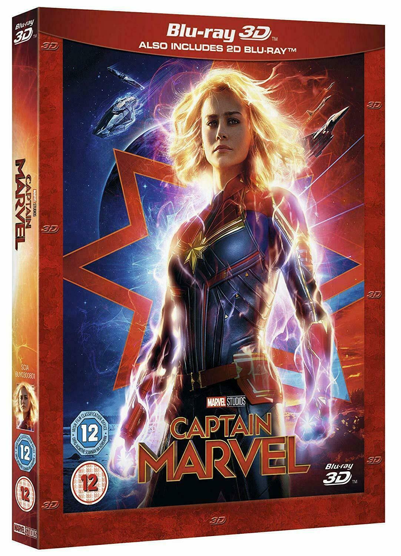 Captain Marvel  Blu-ray Combo