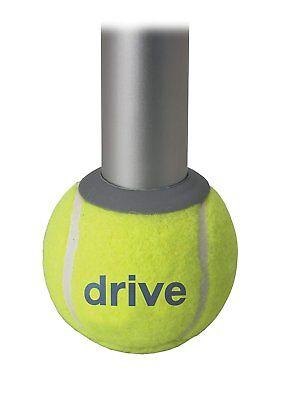 Drive Medical Deluxe Walker Rear Tennis Ball Glides, Yellow