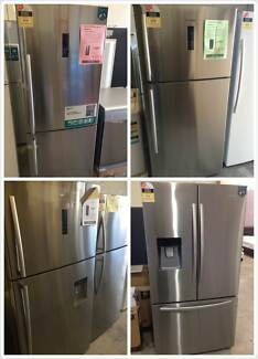 Factory second Hisense stainless Fridge Freezer 435-630L Clayton South Kingston Area Preview