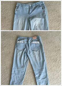 A boyfriend style jeans