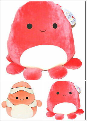 Kellytoy Squishmallow  Super Soft Plush Pillow Toy 12