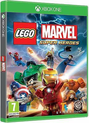 Lego Marvel Super Heroes Xbox One Game - New & Sealed UK PAL - Kids Family Fun