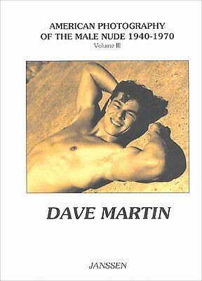 NEW Rare Dave Martin vtg 50s college athlete team muscle beefcake Male Nude gay