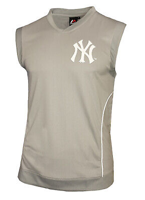 NY Baseball T Shirt Mens M L XL 2XL Majestic New York Yank Yankees Jersey