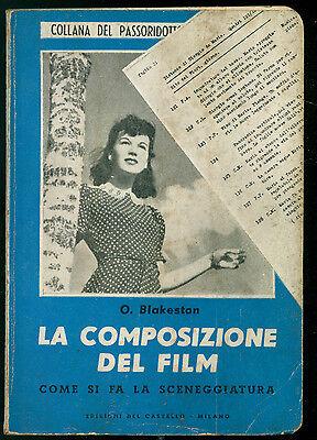 BLAKESTON O. LA COMPOSIZIONE DEL FILM DEL CASTELLO 1951 CINEMA