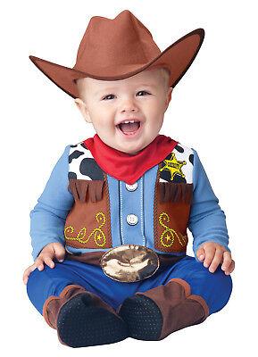 Wee Wrangler Western Cowboy Infant Toddler Costume - Cowboy Infant Costume