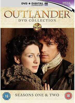 NEW SEALED TV DVD * OUTLANDER - Seasons One and Two * Series 1 & 2