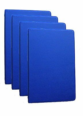 Mead 46001-bl Small 6-ring Blue Binders With 6.75 X 3.75-inch 4 Pack