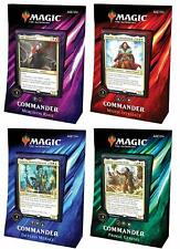 Commander 2019 Set of 4 Decks - Brand New! MTG Magic the Gathering