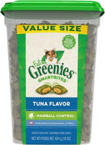 Greenies Feline SMARTBITES Hairball Control Tuna Flavor 16 oz