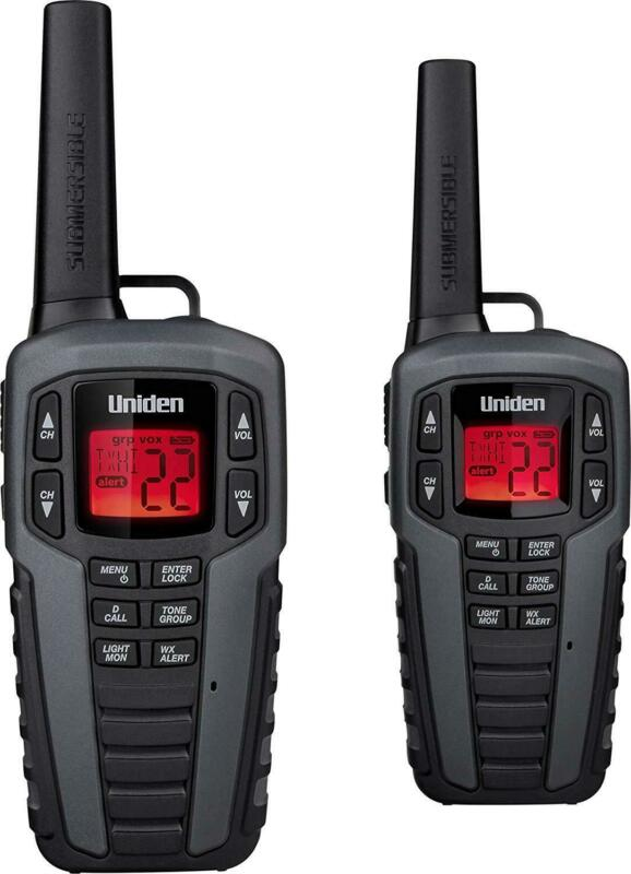 Uniden SX377-2CK 37-mile 22 Channels Two-Way Radios