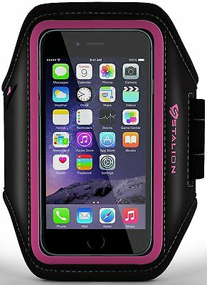Stalion® Sports Running Exercise Gym Armband Case Cover for Apple iPod Touch 5/6 (Apple Ipod Touch Sports Armband)