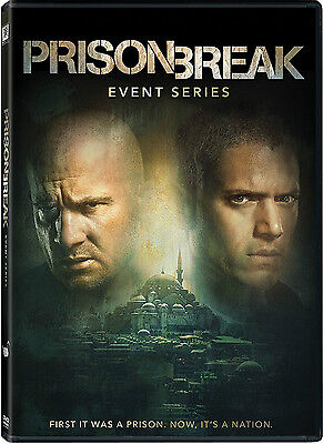 Prison Break: Resurrection - The Event Series season 5 (DVD, 2017 3DVD)