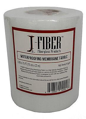 "J-Fiber Fiberglass Waterproofing Membrane Fabric 6""X75"