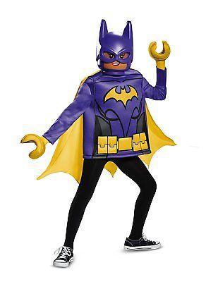 Disguise Kids DC Comics LEGO Batgirl Movie Child Cosplay Classic Costume](Batgirl Classic Costume)