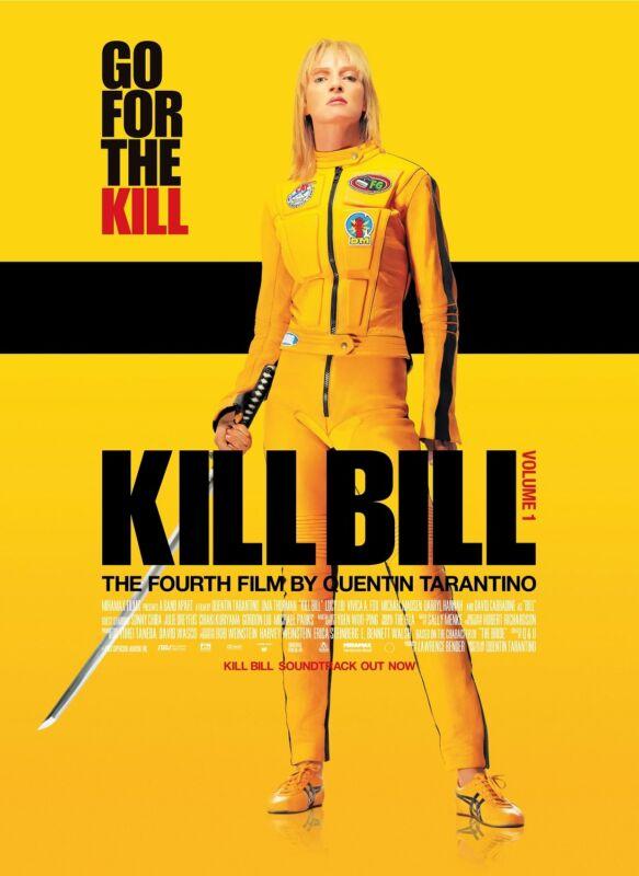 Kill Bill movie poster print : 11 x 17 inches - Uma Thurman, Quentin Tarantino