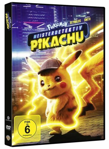 POKEMON MEISTERDETEKTIV PIKACHU DVD DEUTSCH