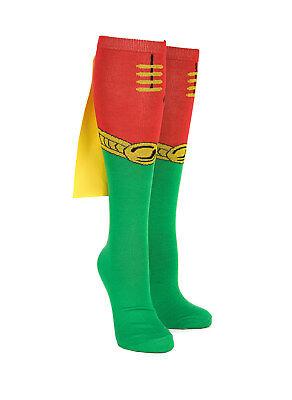 Robin Knee High Cape Socks](Robin Socks)