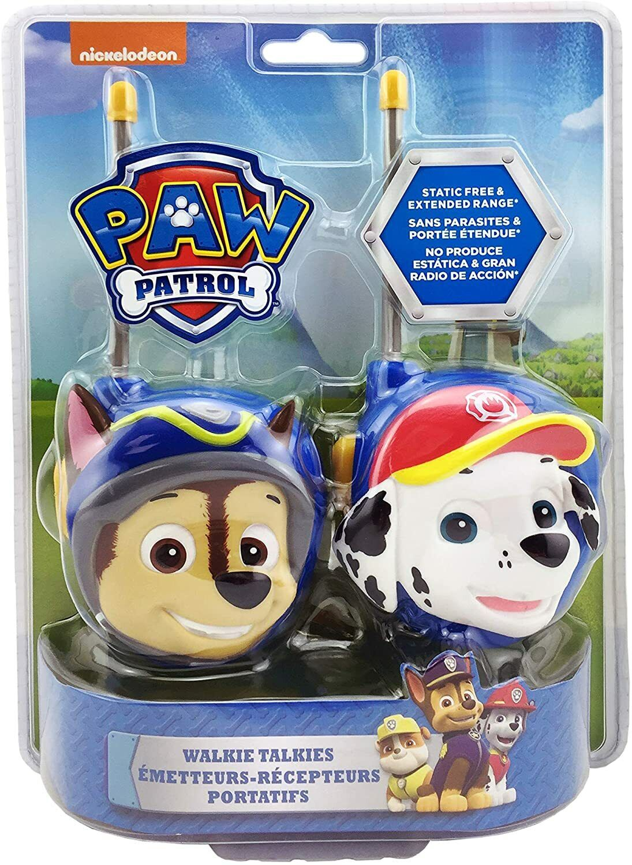Paw Patrol Walkie Talkies - Set of 2 Kids Walkie Talkies Cha