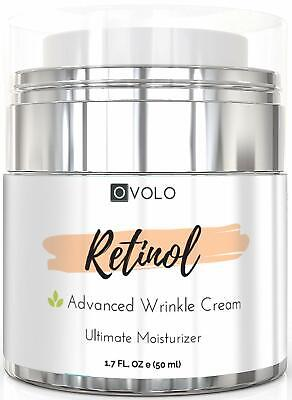 OVOLO Moisturizer Cream With Retinol For Face And Eye Area - BEST NEW 2019