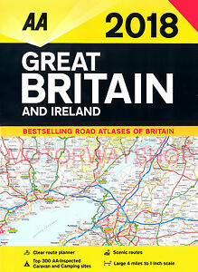 Ireland Road Map eBay