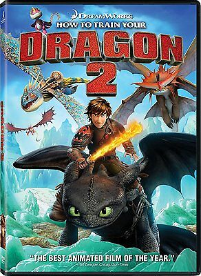 How To Train Your Dragon 2  Dvd   New   Free First Class Shipping