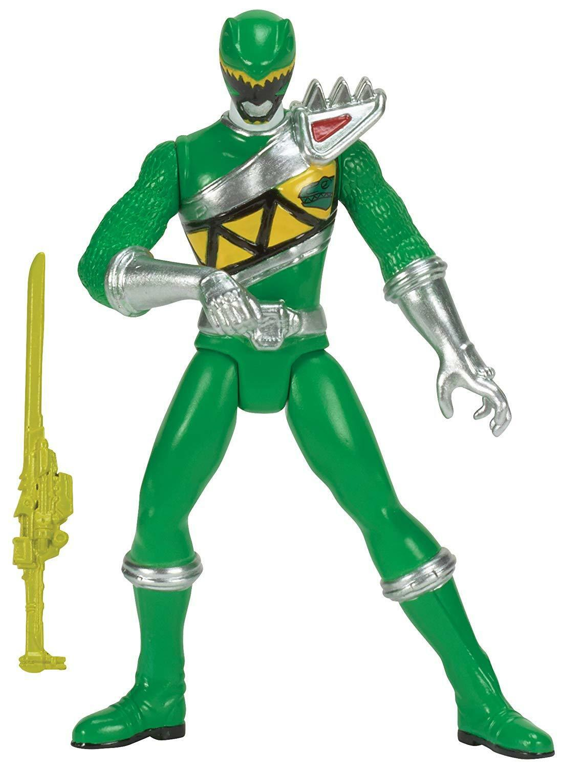 """Power Rangers Dino Charge - 4"""" Green Ranger Action Figure"""