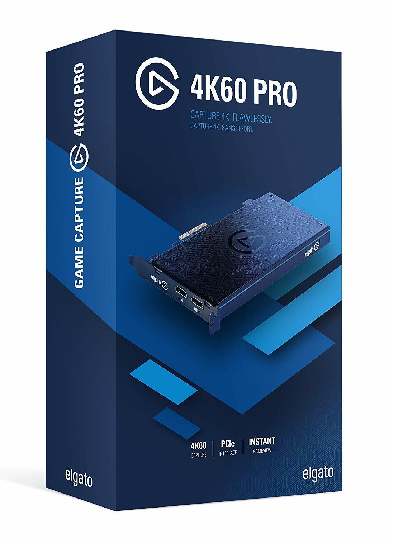 Elgato Game Capture 4K60 Pro, 4K 60fps capture card with ult