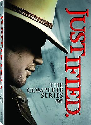 Justified: The Complete Series Season 1-6 (DVD, 2015) New BOX SET Free Shipping